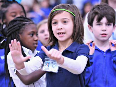 West Feliciana 2018 second grade chant