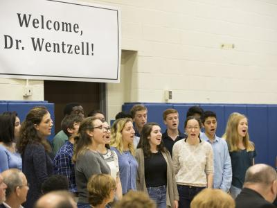West Hartford 2017 Hall High choir
