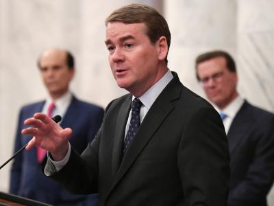 2018 CR Michael Bennet speaking