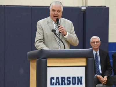 2019 Carson City governor Steve Sisolak