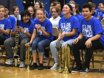 2019 Carson City students excited