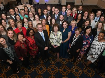 2019 Forum Milken Educators group