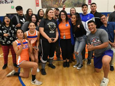 2019 NM Lacy Rivera students