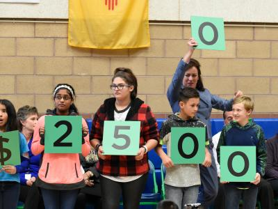 Amy Biehl students spell 25000