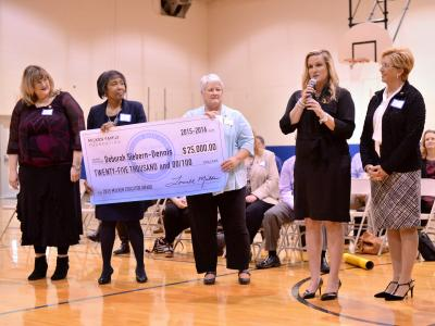 Bode Middle Milken Educator veterans