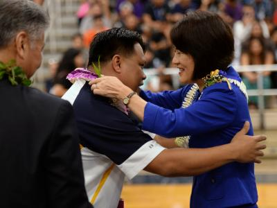 First Lady Dawn Ige congratulations