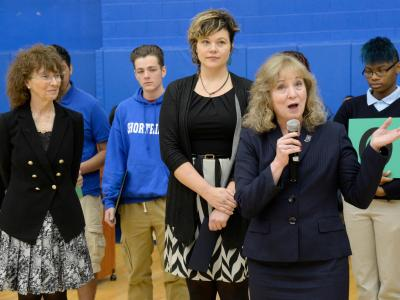 Glenda Ritz addresses assembly