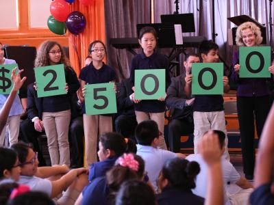 Jackson Elementary students spell award amount