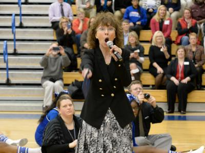 Jane Foley at Shortridge High School