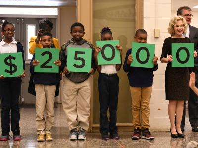 Jeanerette students spell award amount