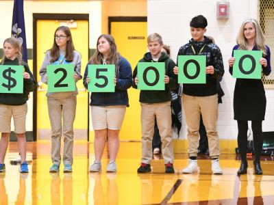 Lafayette 2017 students spell 25000