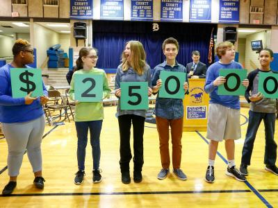 Lexington 2017 students spell 25000
