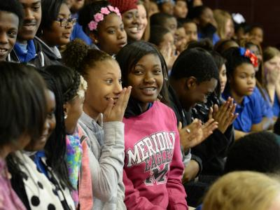 Magnolia Middle School students excited