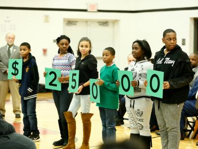 Maple Heights 2017 students spell 25000