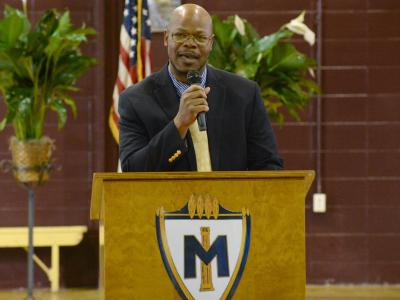 Meridian superintendent education Alvin Taylor