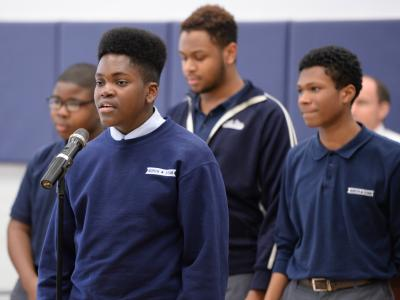 North Star Academy choir