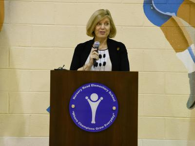 Nursery Road Molly Spearman state superintendent
