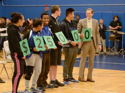 Randolph HS students award amount