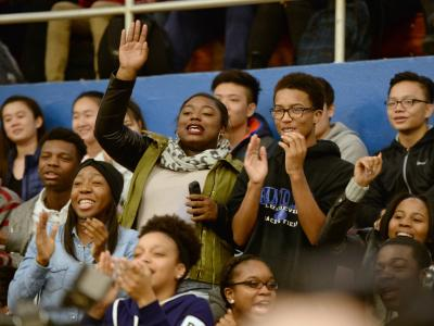 Randolph HS students react