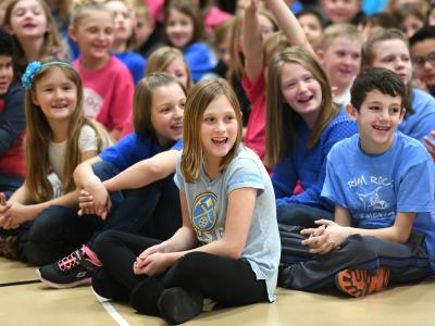Rim Rock Elementary students excited