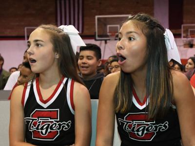Slaton 2017 students surprised at 25000