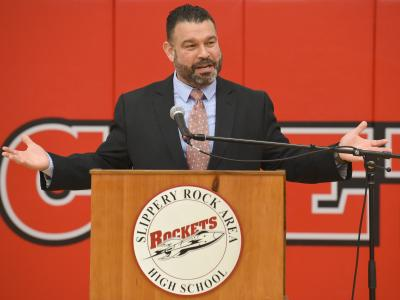 Slippery Rock 2017 Pennsylvania superintendent Pedro Rivera