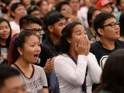 Waipahu High students react