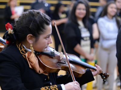 Whittier Middle mariachi violin