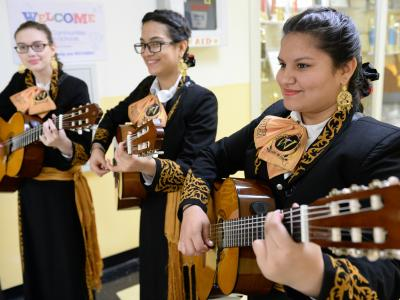 Whittier Middle mariachi
