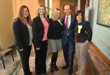 2018 MEA Forum Erin Reichert Mike Milken group