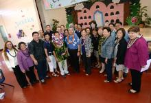 Masaru Uchino with Milken Educators
