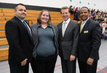 Samatha Morgan Lowell Milken and Milken Vets
