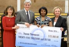 Tracee Thompson Governor Phil Bryant Dr Carey Wright Dr Jane Foley
