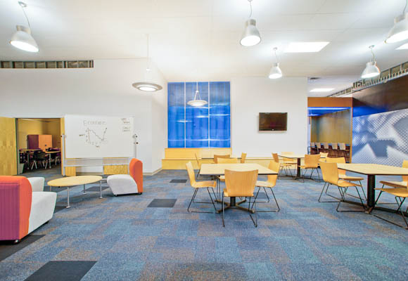 Cooperative Clusters Classroom Design Definition : Aftermath of devastation fosters new formula for success