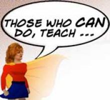 those who can do teach