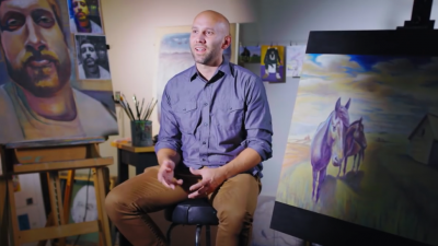 59 Brad LeDuc Portrait of an Artist YouTube 1
